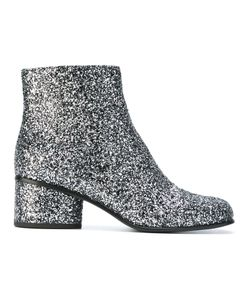 Marc Jacobs | Camilla Glitter Ankle Boots 40 Leather/Pvc