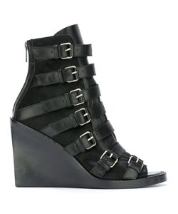 Ann Demeulemeester | Blanche Buckled Straps Boots 38 Leather/Calf