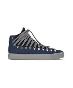 MYSWEAR | Redchurch Hi-Top Sneakers 45 Calf Leather/Suede/Calf Hair/Rubber