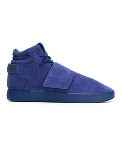 Adidas | Tubular Invader Strap Sneakers 8 Leather/Suede/Rubber