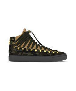 MYSWEAR | Redchurch Hi-Top Sneakers 37 Calf Leather/Suede/Calf Hair/Rubber