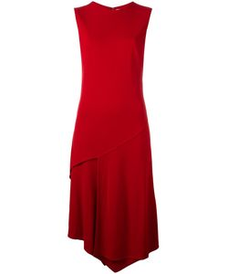 DKNY | Asymmetric Midi Dress Xxs Viscose