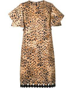 DRESS CAMP | Dresscamp Animal Print Dress 36 Cotton