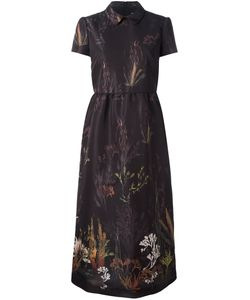 Red Valentino | Print Dress 44 Polyester/Acetate