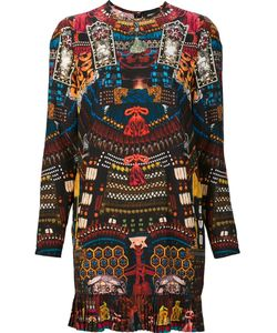 Dsquared2 | All-Over Japanese Print Dress 40 Silk