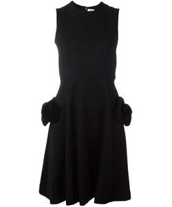 Comme Des Garçons Noir Kei Ninomiya   Fur Pocket Sleeveless Dress