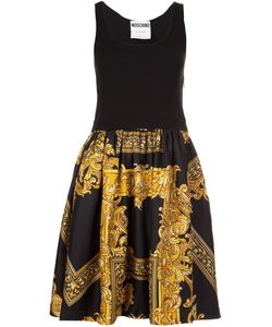 Moschino | Baroque Frame Dress 40 Rayon/Virgin Wool