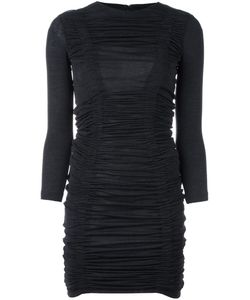 Dsquared2 | Ruffled Design Dress Small Virgin Wool