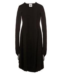 AGANOVICH | Raw Edge Flared Dress 40 Polyamide/Cashmere/Wool