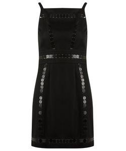 Reinaldo Lourenço | Embellished Shift Dress 42 Cotton/Acetate