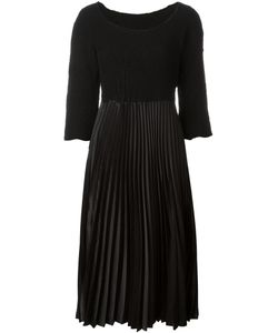 Comme Des Garcons | Comme Des Garçons Vintage Pleated Midi Dress Medium