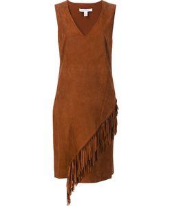 Diane Von Furstenberg | Fringed Dress 2 Suede/Polyester/Spandex/Elastane