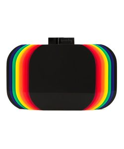Sarah's Bag | Sarahs Bag Rainbow Layered Clutch Bag