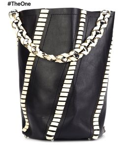 Proenza Schouler | Large Hex Whipstitch Bucket Bag