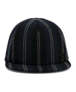 Maison Michel   Striped Cap Medium Cotton/Wool