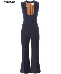ROKSANDA | Flared Jumpsuit 10 Silk/Wool