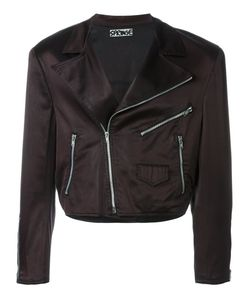 STEPHEN SPROUSE VINTAGE | Cropped Biker Jacket Medium