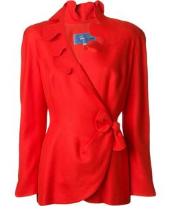 THIERRY MUGLER VINTAGE | Scalloped Wrap Jacket 40
