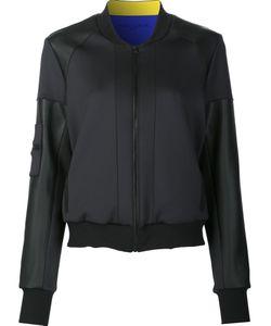 Prabal Gurung Sport | Colourblock Bomber Jacket Large Polyester/Spandex/Elastane