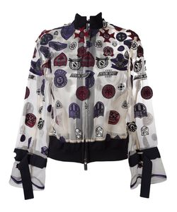 Sacai | Patch Embroidered Bomber 2 Cotton/Polyester