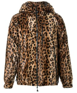 DRESS CAMP | Dresscamp Leopard Print Hooded Jacket Adult Unisex Small Rayon