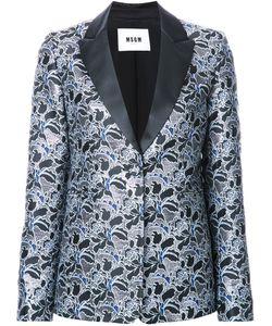 MSGM | Jacquard Dinner Jacket 44 Polyester
