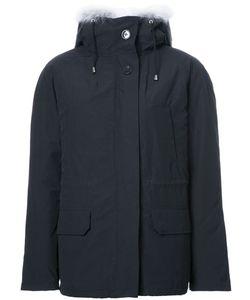 ARMY YVES SALOMON | Fur Hood Jacket 36 Cotton/Polyester/Coyote