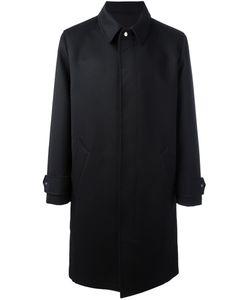 Ami Alexandre Mattiussi   Single Breasted Coat 46 Cotton/Polyester/Acetate/Wool