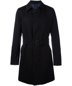 Lardini | Belted Coat 54 Cotton/Viscose/Wool