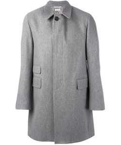 Thom Browne | Oversized Single Breasted Coat 4 Cupro/Wool