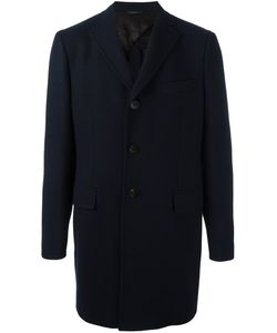 Tonello | Button Front Coat 50 Acetate/Viscose/Cashmere/Virgin Wool