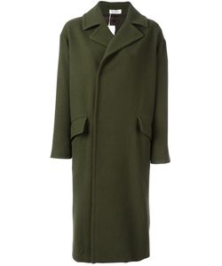 Plantation | Long Length Coat Medium Cupro/Wool
