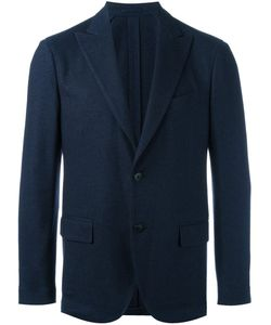 Lardini | Two-Button Blazer 56 Silk/Cupro/Viscose/Cashmere