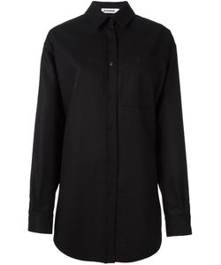 Jil Sander | Oversized Shirt Jacket 36 Silk/Wool