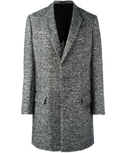 Haider Ackermann | Woven Single Breasted Coat 50 Cotton/Nylon/Rayon/Virgin