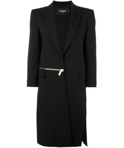 Dsquared2 | Miyako Zipped Long Coat 40 Polyester/Spandex/Elastane/Viscose/Virgin Wool