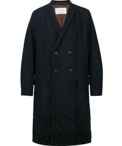 Kolor | Double Breasted Coat 2 Nylon/Cupro/Wool