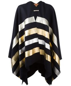 ERMANNO GALLAMINI | Striped Cape Cashmere/Virgin Wool