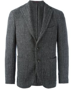 The GIGI | Buttoned Single Breast Blazer 50 Cotton/Cupro/Virgin