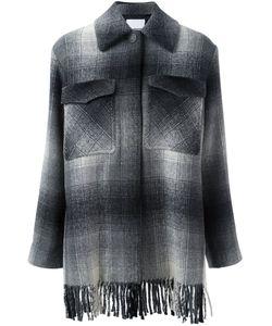 T By Alexander Wang | Checked Shirt Coat 2
