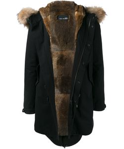 YVES SALOMON HOMME | Fur Trim Parka 44 Rabbit