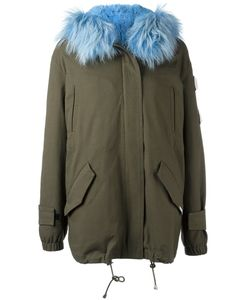 FORTE COUTURE | Fur Trim Parka 38 Cotton/Rabbit Fur/Sheep