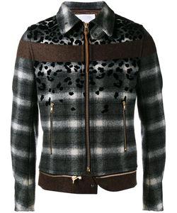 Kolor | Stylised Plaid Jacket 3 Nylon/Cupro/Wool