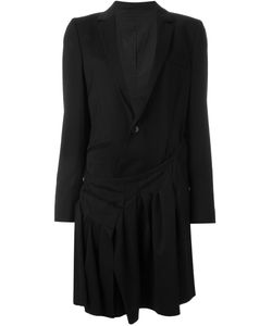 A.F.Vandevorst | Draped Blazer 40 Cotton/Spandex/Elastane/Virgin Wool