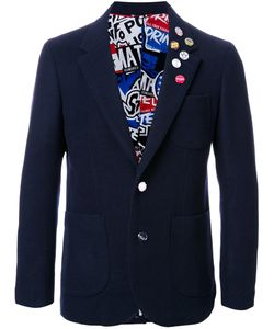 Doublet | Pinned One Button Blazer 2 Nylon/Wool