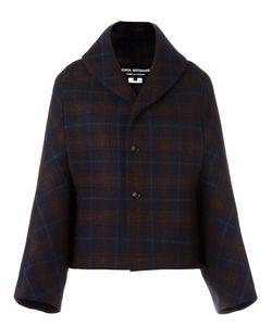 JUNYA WATANABE COMME DES GARCONS | Junya Watanabe Comme Des Garçons Checked Boxy Jacket Medium