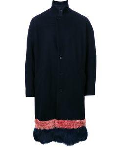 Yoshio Kubo | Furred Hem Coat 2 Cashmere/Wool