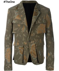 Haider Ackermann | Raquel Military Jacket 50 Silk/Cotton/Wool