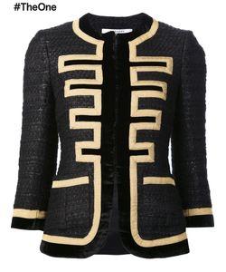 Givenchy | Grain De Poudre Jacket 38 Silk/Acrylic/Viscose/Wool