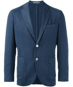 Boglioli | Buttoned Single Breasted Blazer 52 Wool